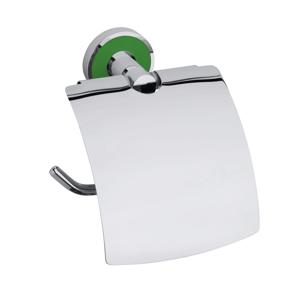 Držák toal.papíru Bemeta TREND-I chrom, zelená 104112018A