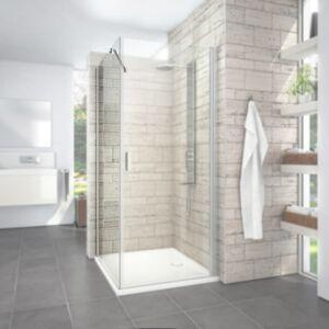 Boční zástěna ke sprchovým dveřím 100x195 cm Roth Limaya Line chrom lesklý 1135008236