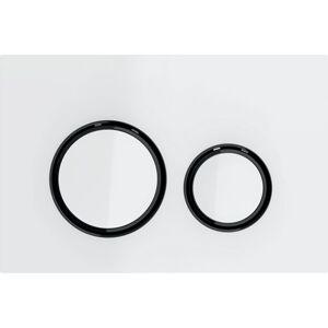 Ovládací tlačítko Geberit Sigma21 zinek bílá 115.651.SI.1