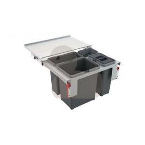 Odpadkový koš FRANKE Sorter Garbo 60-3 1x 18 l, 1x 12 l, 1x 8 l