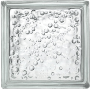 Luxfera Glassblocks čirá 19x19x8 cm sklo 1908P