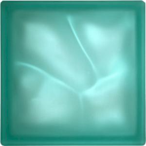 Luxfera Glassblocks turquoise 19x19x8 cm sklo 1908WBT