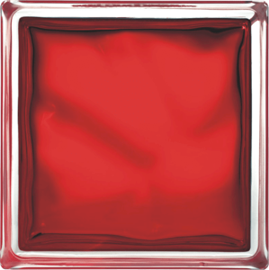 Luxfera Glassblocks red 19x19x8 cm sklo 1908WREBR