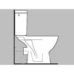 Wc kombi, pouze mísa Jika Lyra plus spodní odpad H8243870000001