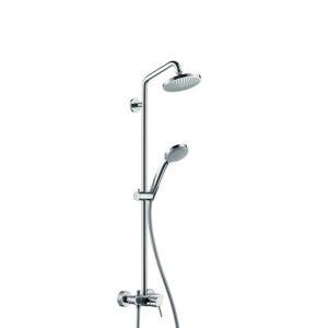 Sprchový systém Hansgrohe Croma na stěnu s pákovou baterií chrom 27154000