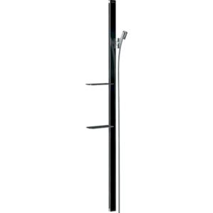 Sprchová tyč Hansgrohe Unica se sprchovou hadicí černá/chrom 27645600