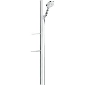 Sprchový set Hansgrohe Raindance Select S s poličkou bílá/chrom 27646400