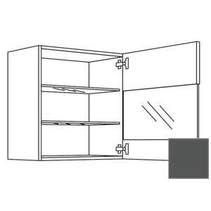 Kuchyňská skříňka horní Naturel Terry24 s dvířky 45 cm břidlicová šedá 334.WGLS4502R