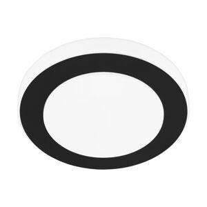 LED stropní svítidlo EGLO Led Carpi IP44 černá 33682