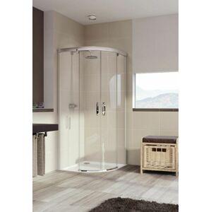 Sprchové dveře 120x80x200 cm Huppe Aura elegance chrom lesklý 402433.092.322