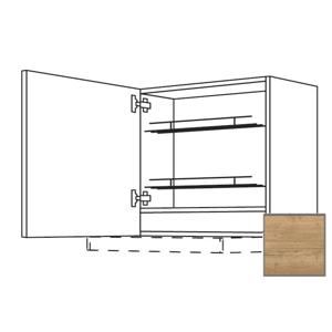 Kuchyňská skříňka horní Naturel Sente24 pro digestoř 60x72x35 cm dub sierra 405.WDAF657LN