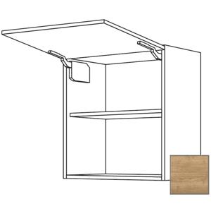 Kuchyňská skříňka horní Naturel Sente24 výklopná 60x72x35 cm dub sierra 405.WM601