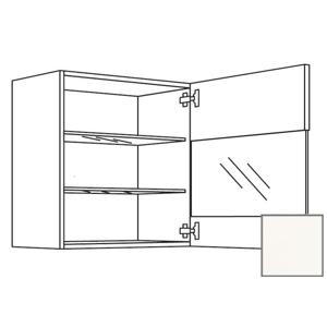 Kuchyňská skříňka horní Naturel Erika24 s dvířky 60x72x35 cm bílá lesk 450.WGLS601R