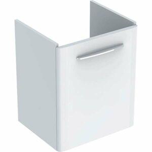 Koupelnová skříňka pod umyvadlo Geberit Selnova 46,4x40,6x55,7 cm bílá lesk 500.178.01.1