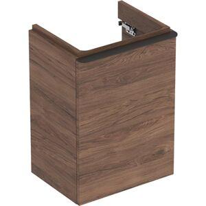 Koupelnová skříňka pod umyvadlo Geberit Smyle Square 44,2x62x35,6 cm ořech 500.350.JR.1