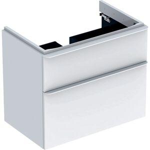 Koupelnová skříňka pod umyvadlo Geberit Smyle Square 73,4x62x47 cm bílá 500.353.00.1