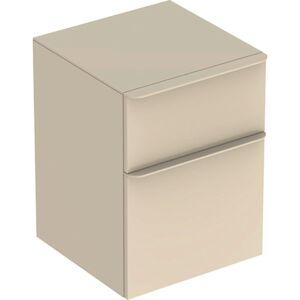 Koupelnová skříňka nízká Geberit Smyle Square 45x60x47 cm šedá 500.357.JL.1