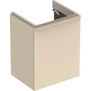 Koupelnová skříňka pod umyvadlo Geberit Smyle Square 49,2x62x40,6 cm šedá 500.364.JL.1