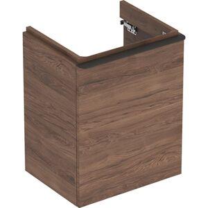 Koupelnová skříňka pod umyvadlo Geberit Smyle Square 49,2x62x40,6 cm ořech 500.364.JR.1