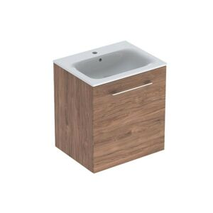 Koupelnová skříňka s umyvadlem Geberit Selnova 60x50,2x65,2 cm ořech hickory 501.254.00.1
