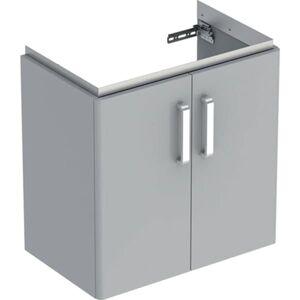 Koupelnová skříňka pod umyvadlo Geberit Selnova 59,7x60,5x39,7 cm šedá 501.658.42.1