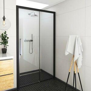 Sprchové dveře 120x205 cm pravá Roth Exclusive Line černá matná 565-120000P-05-02
