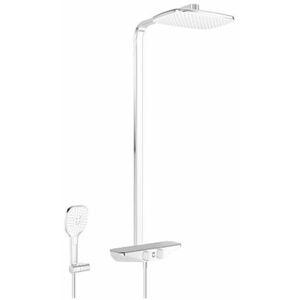 Sprchový systém Hansa EMOTION s termostatickou baterií šedá/chrom 5865017284