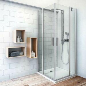 Sprchové dveře 110x201,9 cm Roth Tower Line chrom matný 724-1100000-01-02