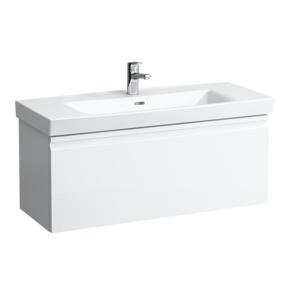 Koupelnová skříňka pod umyvadlo Laufen Pro Nordic 97x45x37,2 cm bílá 8315.7.095.463.1