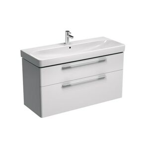Koupelnová skříňka pod umyvadlo KOLO Traffic 116,8x62,5x46,1 cm bílá lesk 89439000
