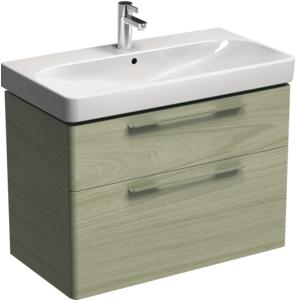 Koupelnová skříňka pod umyvadlo KOLO Traffic 86,8x62,5x46,1 cm bělený jasan 89504000