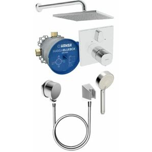 Sprchový systém Hansa BLUEBOX včetně podomítkového tělesa chrom 89950000
