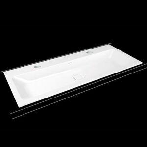 Zápustné umyvadlo Kaldewei Cono 3082 120x50 cm alpská bílá se dvěma otvory pro baterii 901806043001