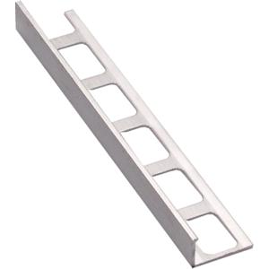 Lišta ukončovací L hliník elox stříbrná, délka 250 cm, výška 11 mm, ALE11250