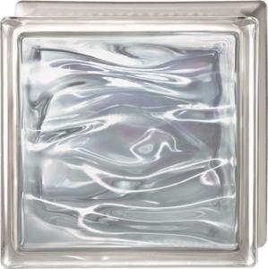 Luxfera Glassblocks Perla Blanco 19x19x8 cm sklo AQBQ19PBLA