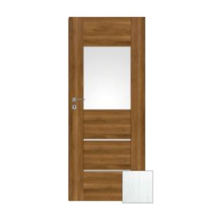 Interiérové dveře Naturel Aura pravé 80 cm borovice bílá AURA2BB80P