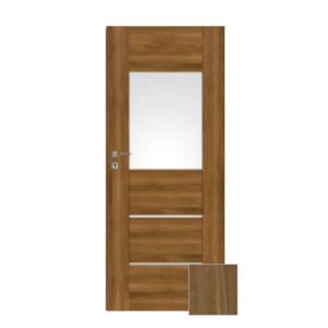 Interiérové dveře Naturel Aura levé 80 cm ořech karamelový AURA2OK80L