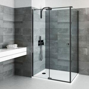 Boční zástěna ke sprchovým dveřím x80Roth Elegant Neo Line BI FXP 08020 NPE