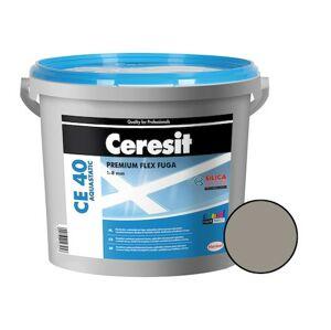 Spárovací hmota Ceresit CE 40 cementově šedá 5 kg CG2WA CE40512