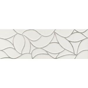 Dekor Dom Comfort G white design platinum 33x100 cm mat DCOG10DD
