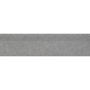 Schodovka Rako Block tmavě šedá 30x120 cm mat DCPVF782.1