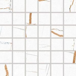 Mozaika Fineza Vision bílá 30x30 cm mat DDM06386.1