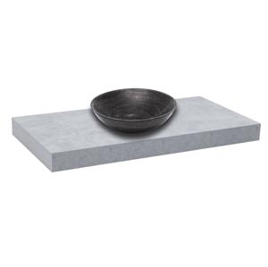 Deska pod umyvadlo bez umyvadla Naturel Dolce 100x8x50 cm beton mat DO10050BE