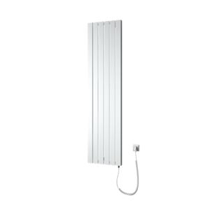 Radiátor elektrický Isan Vital 180x45 cm černá DVIT18000450ECF