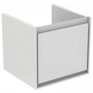 Koupelnová skříňka pod umyvadlo Ideal Standard Connect Air 43x40,2x40 cm hnědá mat/bílá mat E0842VY