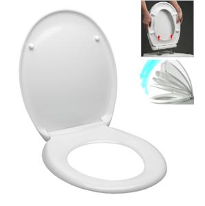 WC prkénko Glacera duroplast bílá EASY2233