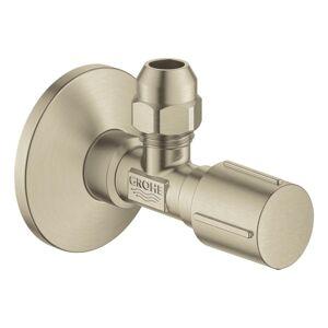 """Rohový ventil Grohe 1/2""""x3/8"""" s krytkou kartáčovaný nikl 22039EN0"""
