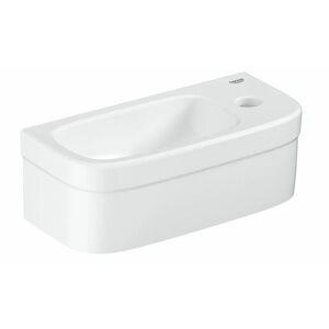 Umývátko Grohe Euro Ceramic 37x18 cm alpská bílá otvor pro baterii vpravo 39327000