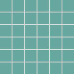 Mozaika Rako Color Two tyrkysová 30x30 cm mat GDM05467.1