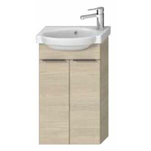 Koupelnová skříňka pod umyvadlo Jika Tigo N 41,8x16,6x70,5 cm jasan H40J2112005141